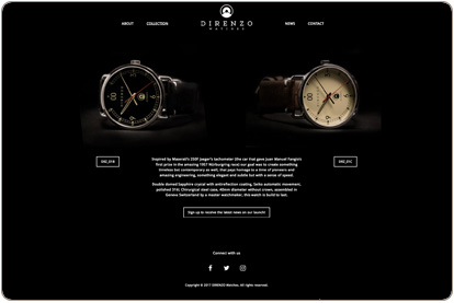 Direnzo watches Collection